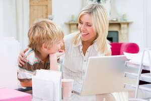 ADHD treatment options, mother and son working together
