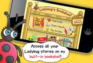 Ladybugs Bookshelf App