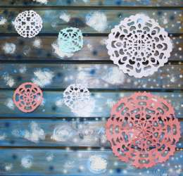 Colorful Snowflake Activity for Kids