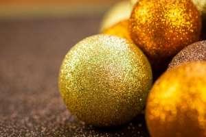 Glitter Christmas Ornament for Kids