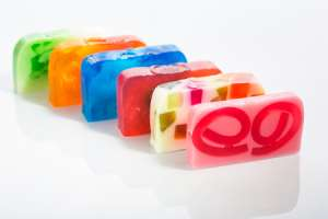 Painted Soap Activity for Kids