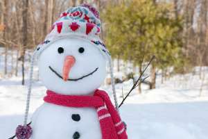 Snowman Costume for Kids