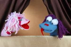 Spoon Puppet Activity for Kids