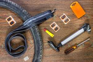 Teaching Kids about Bike Tire Repair