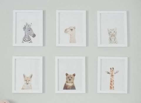 Animal Themed Gender Neutral Nursery