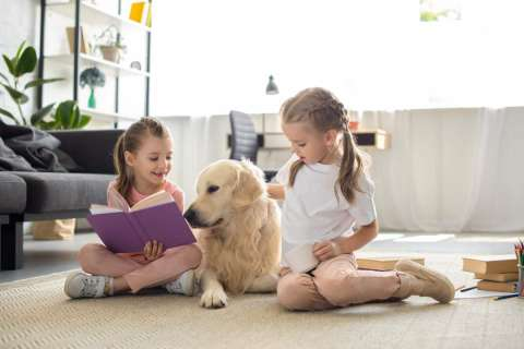 Reading to pets builds kids' reading skills