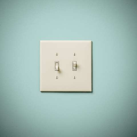 Painted Light Switch Cover Activity For Kids