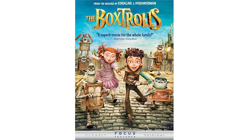 The Boxtrolls [PG]