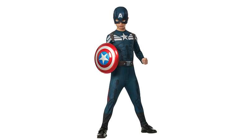 Captain America kids' costume