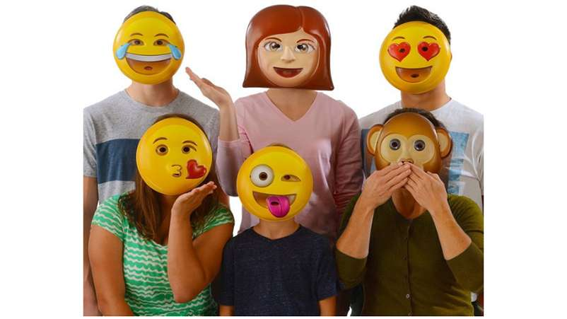 emoji masks - Kids Halloween Masks
