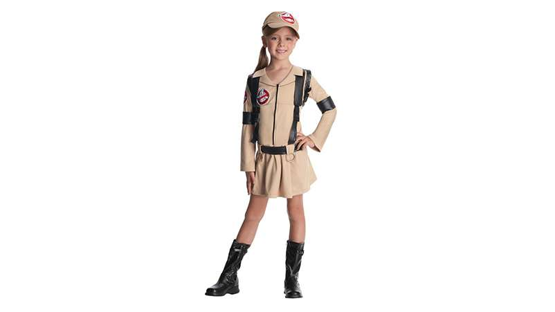 Ghostbuster girls' costume