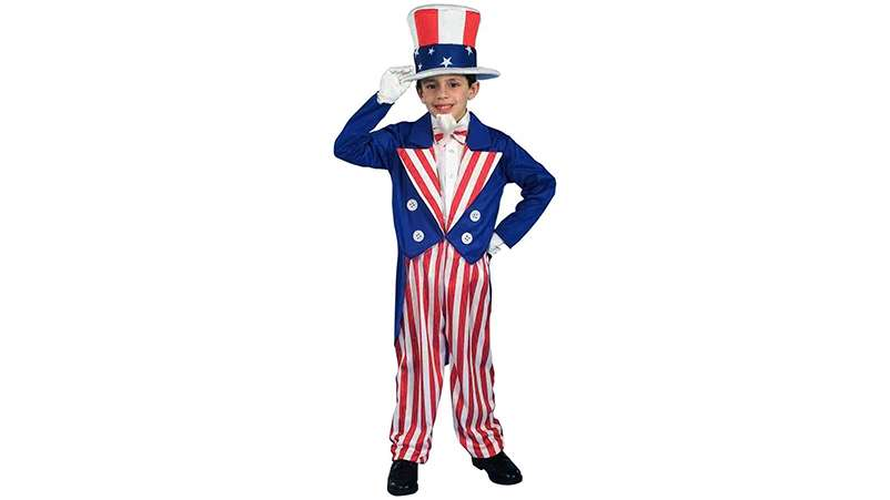 Uncle Sam child's costume