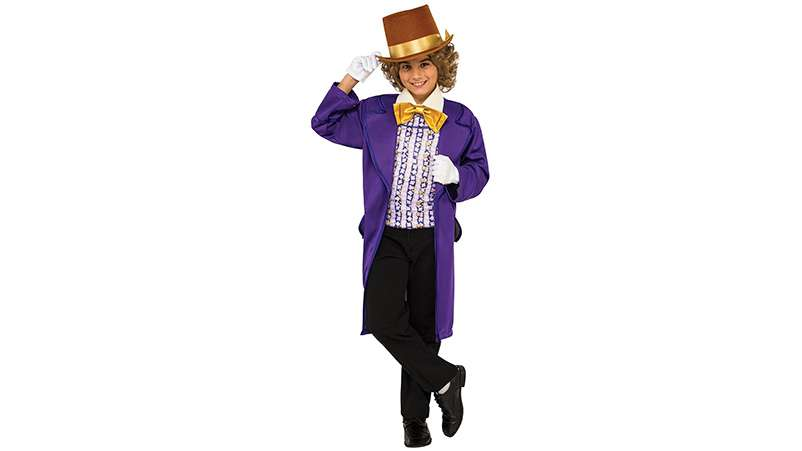 Willy Wonka children's costume