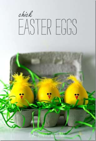 Chick Easter Eggs