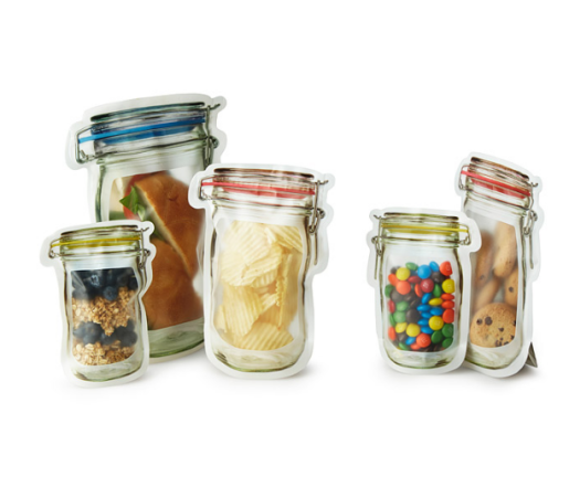 resuable jar lunch bags
