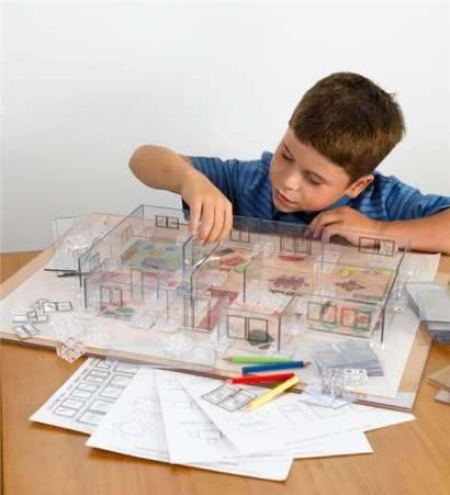 Young Architect 3-D Building Kit