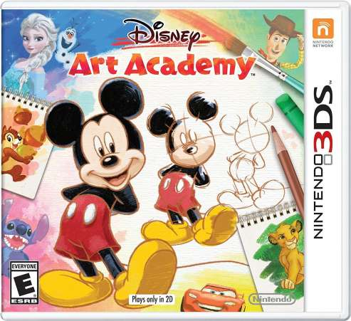 Disney Art Academy video game