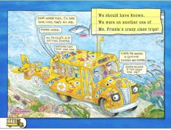 The Magic School Bus: Oceans