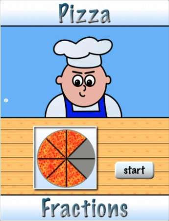 Pizza Fractions 1 App