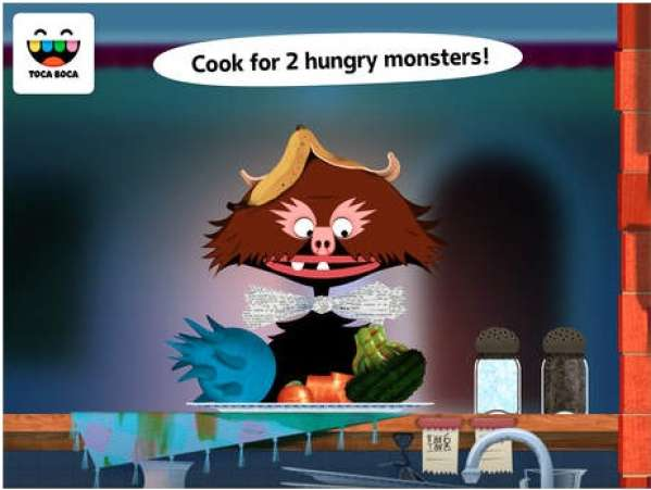 Toca Kitchen Monsters app