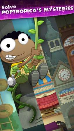 Poptropica Worlds is a great educational app for kids