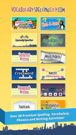 Spellingcity is a great free app for spelling