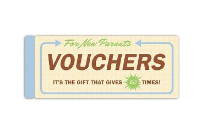 baby gifts for twins, babysitting vouchers