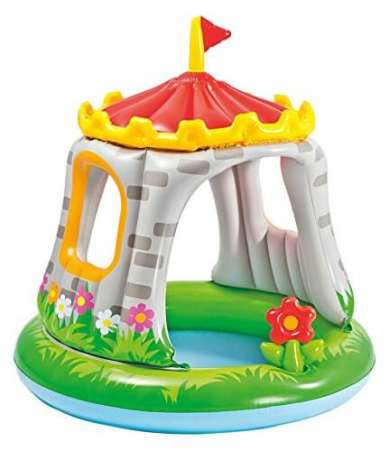 Castle Shaded Baby Pool