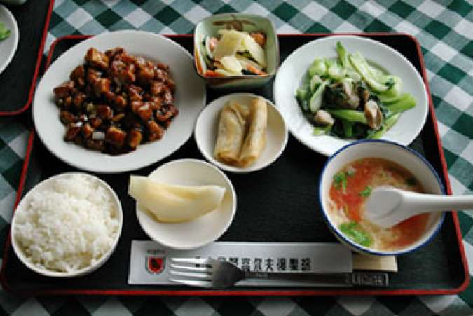Chinese Meal, Food