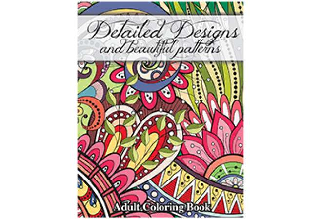 Detailed Design Adult Coloring Book