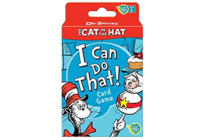 Dr Seuss Cat in the Hat Card Game