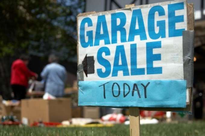 Garage, Yard Sale