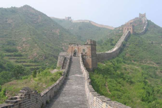 Popular Attraction: The Great Wall of China