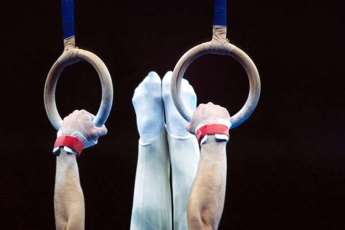 Summer Olympics, Gymnastics, Rings