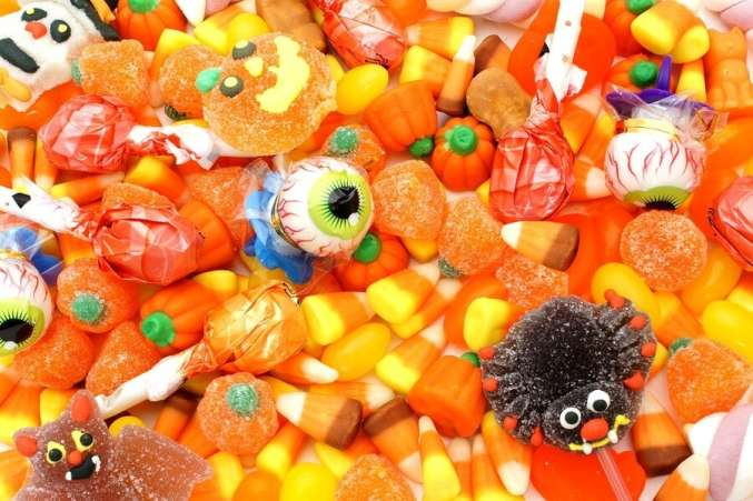 Halloween Candy Stock Photos Images Royalty Free