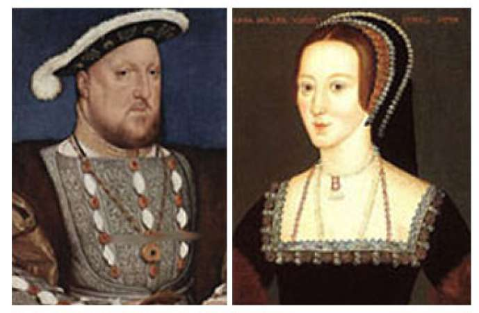 Henry and Anne Boleyn