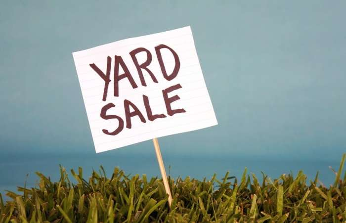 Let Them Help At Yard Sales