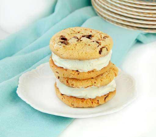IceCreamSandwichwithChocolateChipCookies