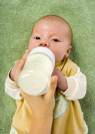 Infant bottle feeding