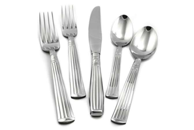 Made in the USA, Liberty flatware set