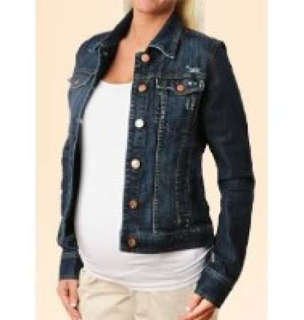 MaternityFashionTips,MaternityDenimJacket