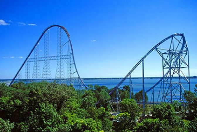 Millennium Force Rollercoaster Ride