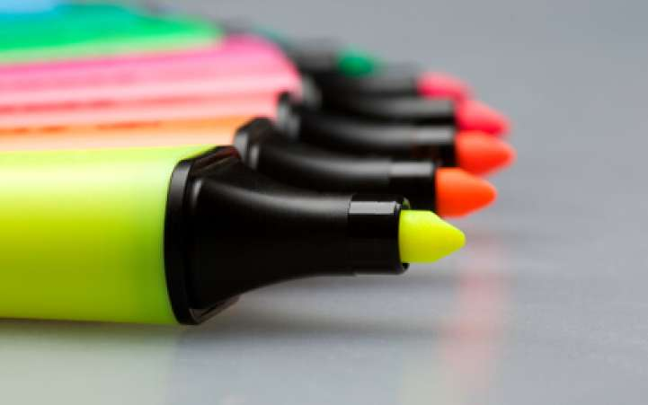 Markers,Highlighters,NeonMarkers