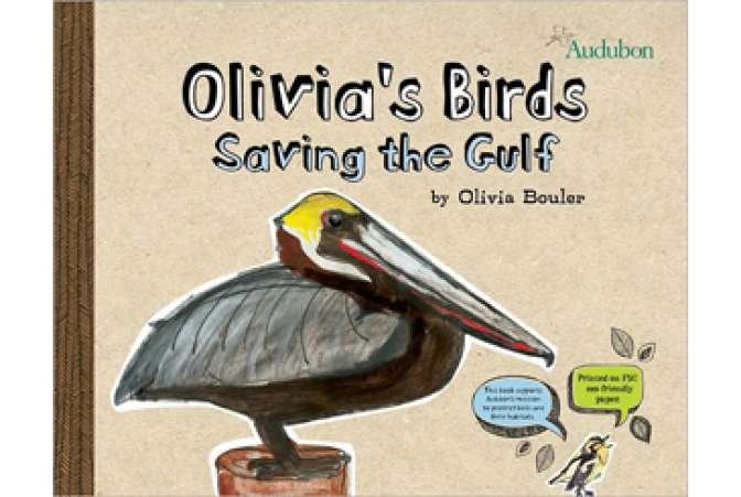 Earth Day books, Olivias Birds Audubon book