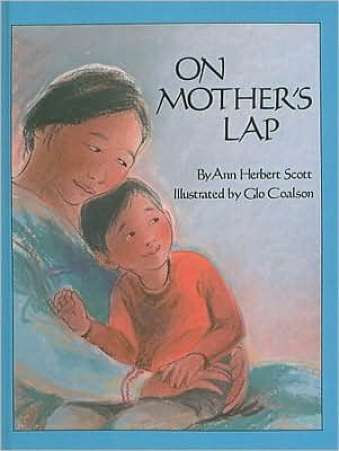 Books for Big Sister or Brother, On Mother's Lap by Scott