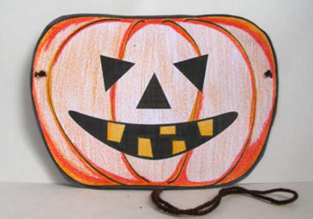 pumpkinhalloweenmask - Kids Halloween Masks