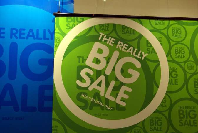 Big Sale Store Sign