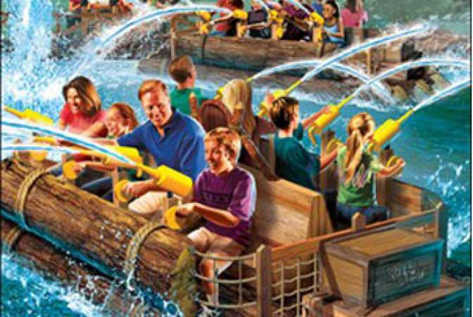 River Battle Water Ride