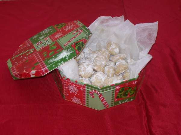 HolidayCookies,SnowBalls