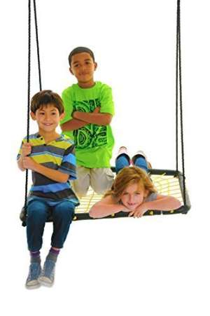 Spider Web Platform Swing